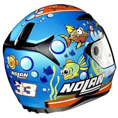کلاه کاسکت نولان مدل Nolan N60-5 M.Melandri Aquarium